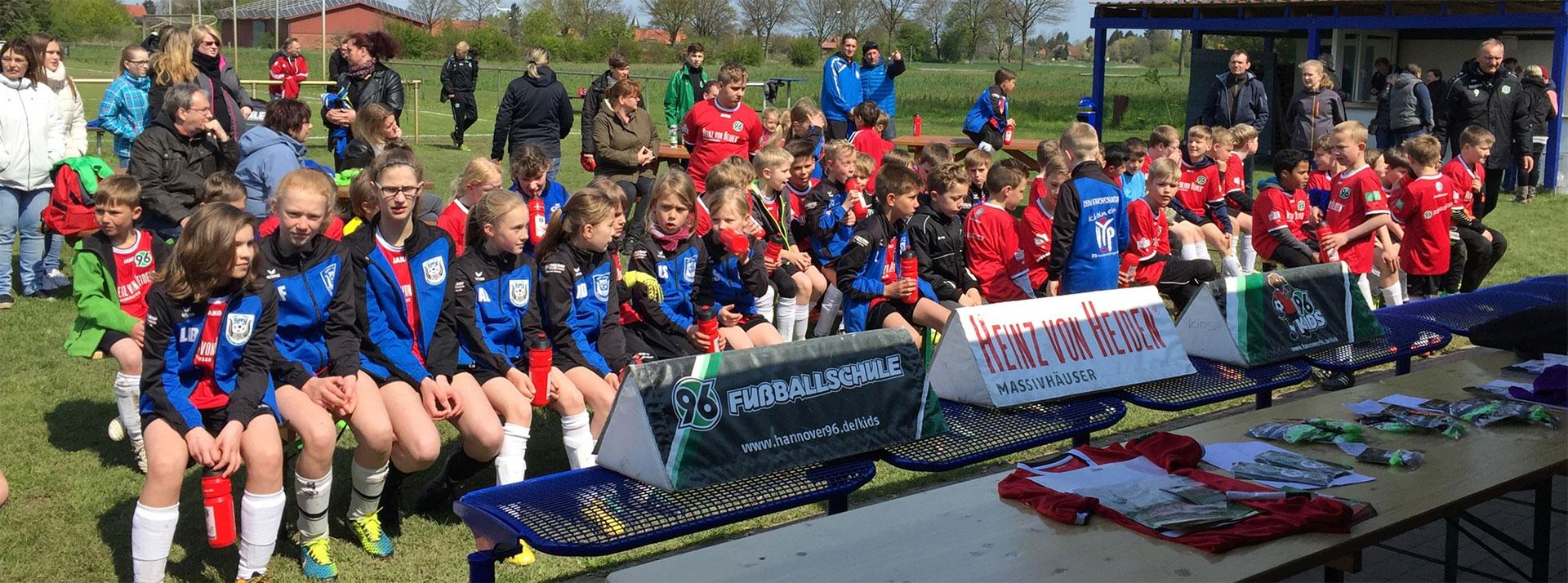 Die 96-Fußballschule beim SBV Erichshagen