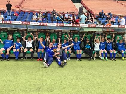 Mannschaftsbild 96-Vereint-Cup 2016©SBV Erichshagen