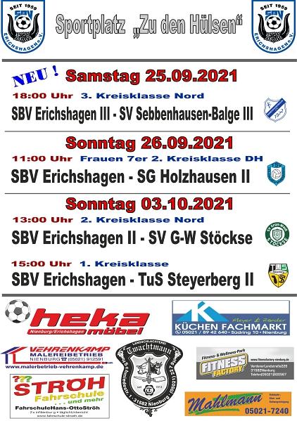 Heimspiele 03.10.21©SBV Erichshagen