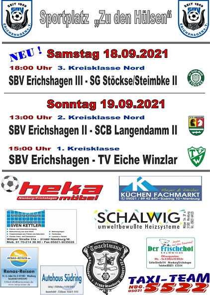 Heimspiele 18.09.21©SBV Erichshagen